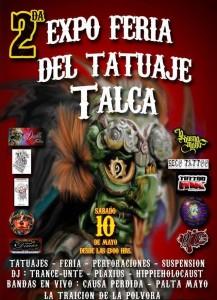 flyer expo tatuajes