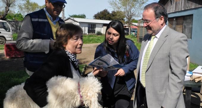 Más de 100 mascotas fueron inmunizadas contra la rabia en operativo en Talca