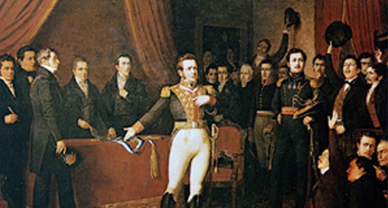 Un Día Como Hoy, 12 De Febrero, En 1818, Se Firmó La