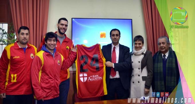 CFT San Agustín y Club Deportivo Español de Talca firmaron importante convenio