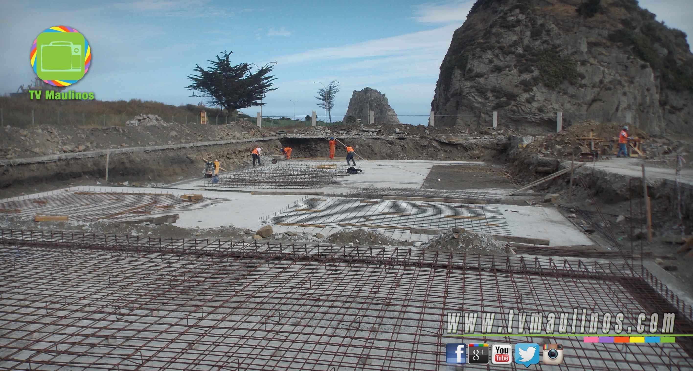 Avanza construcci n de complejo de piscinas temperadas en for Construccion de piscinas temperadas