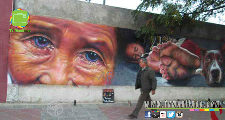 artista salazart salazart solicita apoyo para hacer un mural gigante en talca tvmaulinos