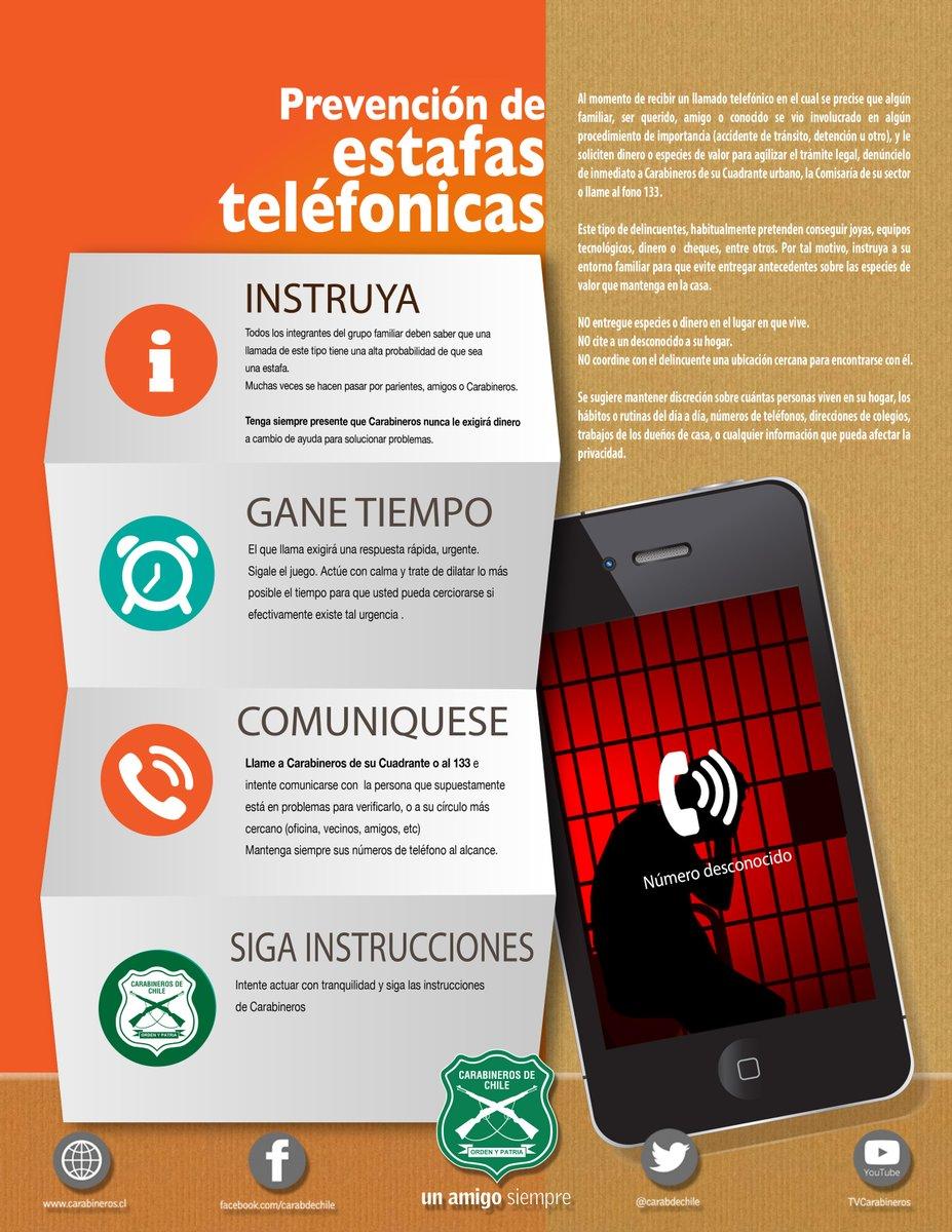AFICHE ESTAFAS TELEFONICAS