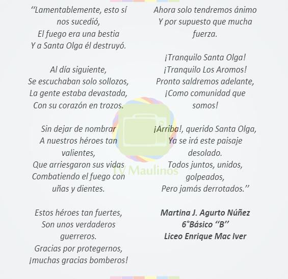 Poema Martina Agurto